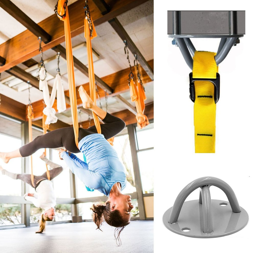 Workout Wall Mount ceiling Bracket Gym Resistance Bands trainer home gym mount
