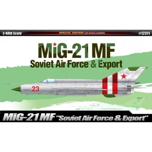 Aca12311 - Academy 1:48 - Mig-21 Soviet Air Force & Export