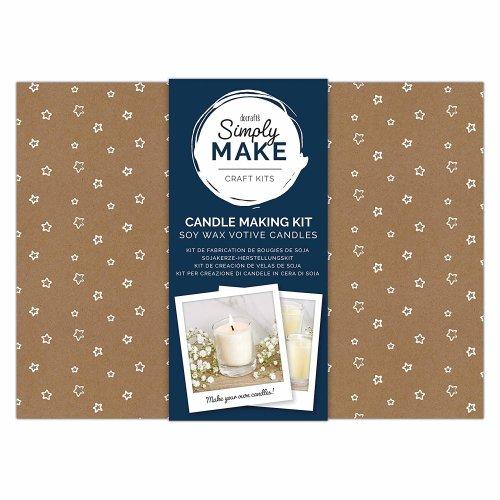Simply Make Soy Wax Votive Candle Making Kit 6pk