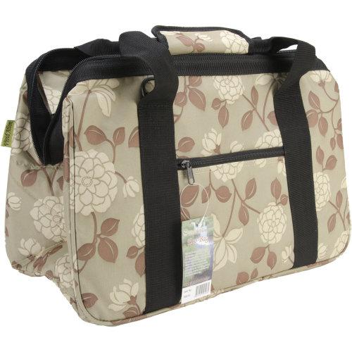 """JanetBasket Eco Bag-18""""X10""""X12"""" Peony"""