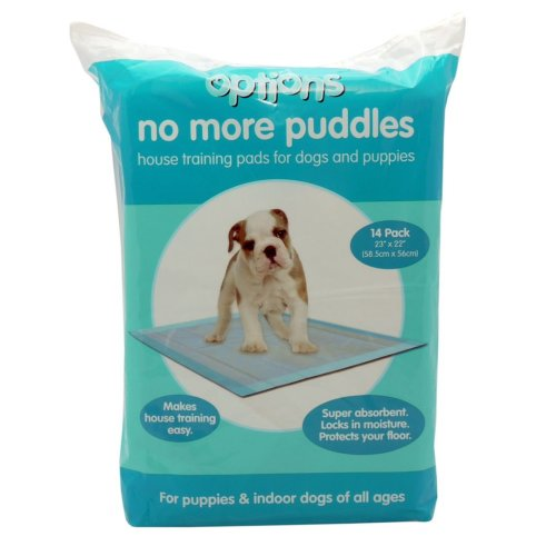 Options Puppy Pads 14 Pack