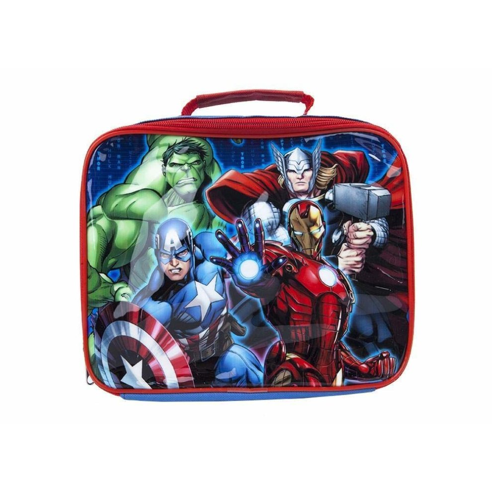 7f8f9b34806c Avengers School Packed Insulated Lunch Bag Pack Stocking Filler Boys