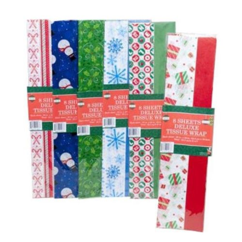 DDI 782387 Christmas Tissue Paper -Pack of 72