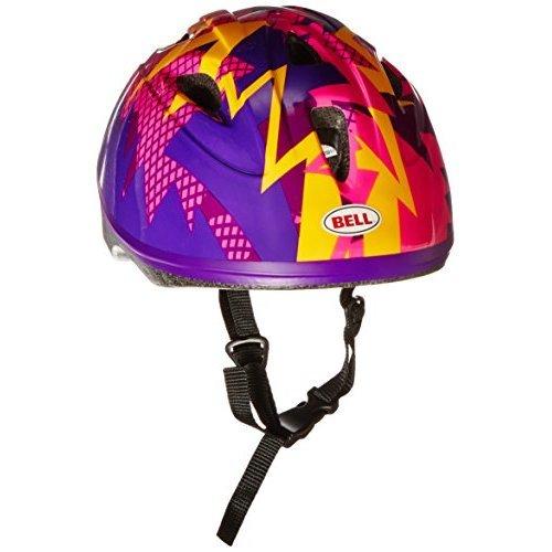 Bell Toddler Zoomer Bike Helmet Purple Kink
