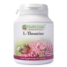 L-Theanine 200mg x 90 capsules (Magnesium Stearate Free)