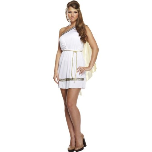 Roman Woman Fancy Dress Costume
