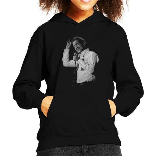 Sammy Davis Jr Singing In Concert 1982 Kid's Hooded Sweatshirt