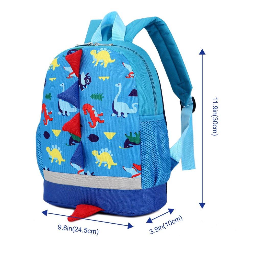 603f4699656 ... Uworth Kids Dinosaur Backpack Boys Toddler Backpack Rucksack Blue - 2  ...