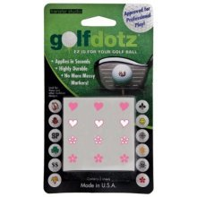 Golfdotz Hearts and Flowers