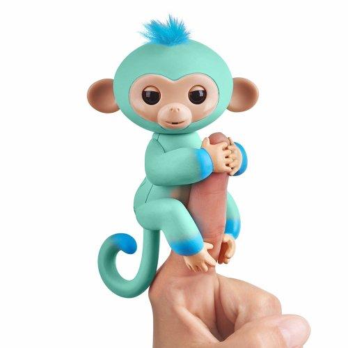 Fingerlings 2Tone Monkey - Eddie (Seafoam Green with Blue accents)