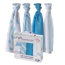 Mini Swandoodles Bamboo Muslins London Cabs