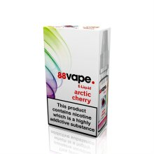 88 Vape E-Liquid Nicotine 11mg Arctic Cherry 10ML