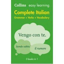 Collins Easy Learning Italian: Easy Learning Italian Complete Grammar, Verbs and Vocabulary (3 Books in 1)