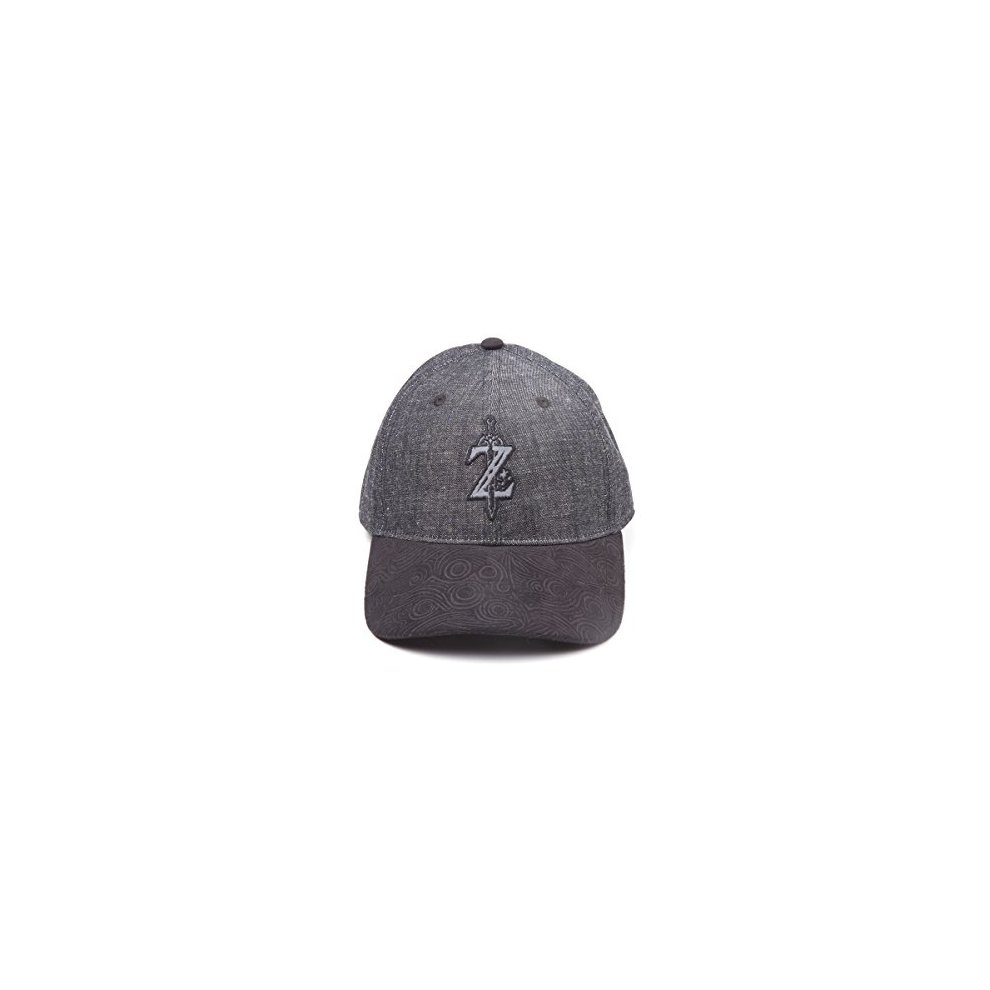 3fe938a2 Zelda: Breath of the Wild Cap Z Game Logo Curved Bill Black (New) on ...