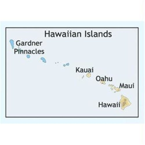 C-MAP NA-C603FURUNOFP FORMAT HAWAIIAN ISLANDS