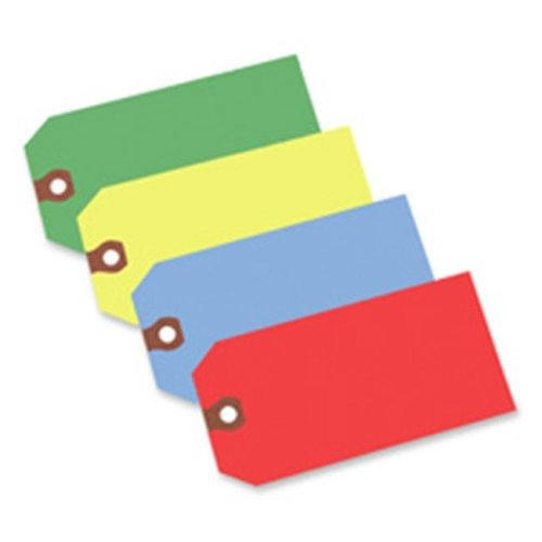 Avery Consumer Products AVE12355 Shipping Tag- No 5- Plain- 4-.75in.x2-.38in.- Blue