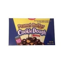 Box of Usa Cookie Dough Bites with Peanut Butter