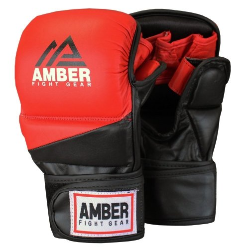 AFG Pro Style MMA Muay Thai Grappling Gloves Sparring Training Gloves