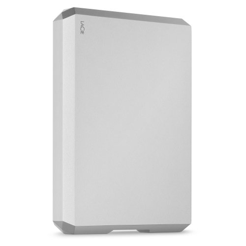 LaCie STHG5000400 5TB Mobile Drive - Moon Silver STHG5000400