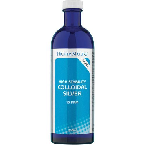 Higher Nature  Active Colloidal Silver 200ml