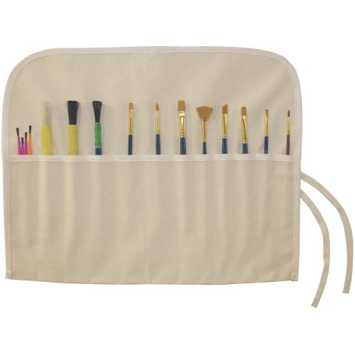 "Canvas Corp Canvas Artist Brush Holder 18""X14""-Natural"