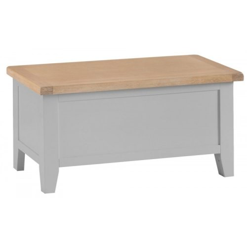 Tenby Grey Painted Furniture Blanket Box