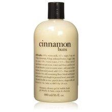 Philosophy Cinnamon Buns Shampoo, Shower Gel and Bubble Bath, 480 ml/16 oz.