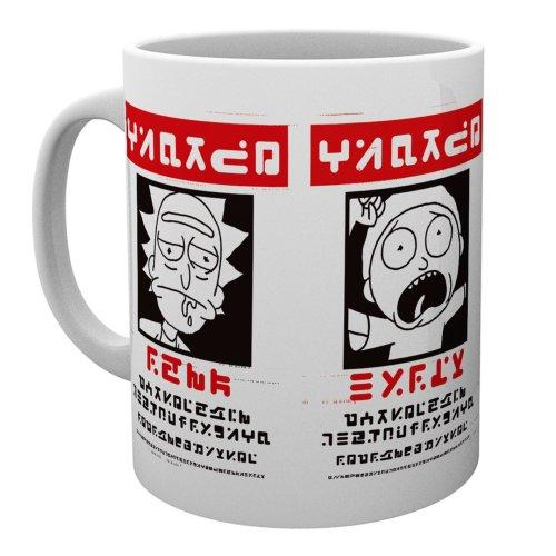 Rick and Morty Wanted Mug