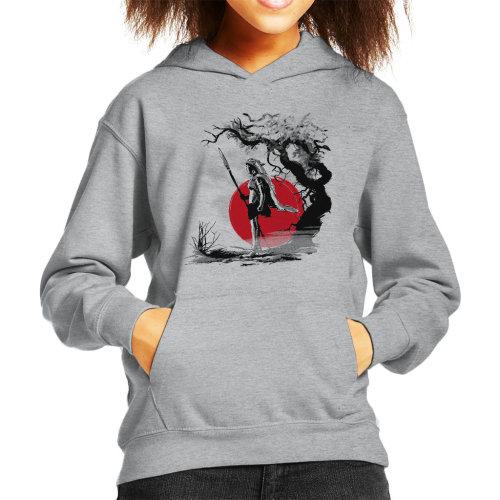 Princess Mononoke Forest Protector Kid's Hooded Sweatshirt