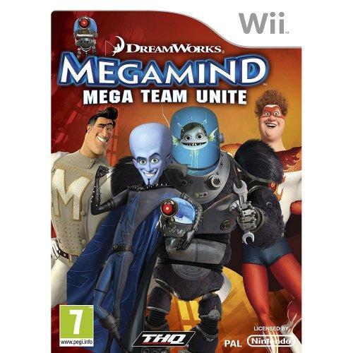 Megamind Mega Team Unite Nintendo Wii Game