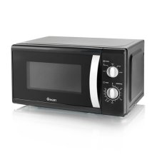Swan Solo Microwave 800W with Defrost setting - Black (Model No. SM40010BLKN)