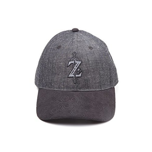 610acd40 Zelda: Breath of the Wild Cap Z Game Logo Curved Bill Black (New) on OnBuy