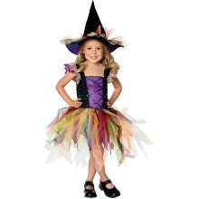 Kids' Glitter Witch Costume