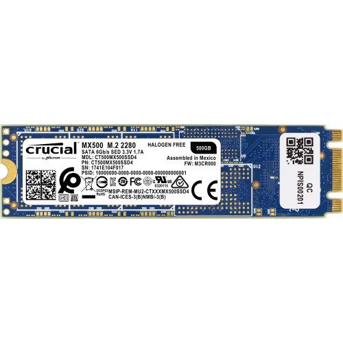 Crucial MX500 500GB M.2 M.2