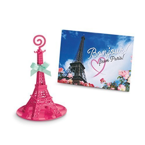 """/""""EIFFEL TOWER//PARIS//GRACE   NECKLACE FOR AMERICAN GIRL DOLL"""