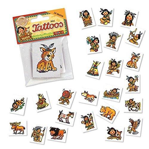 Lutz Mauder Lutz Mauder47310 Native American Mini Tattoo Set (One Size, 24-Piece)