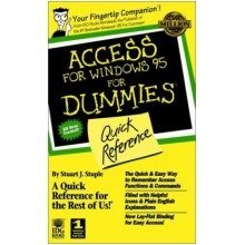 Access for Windows '95 for Dummies Quick Reference