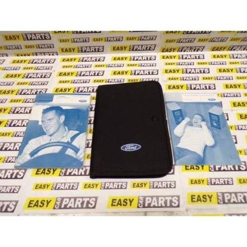 FORD FIESTA OWNERS HANDBOOKS WITH WALLET