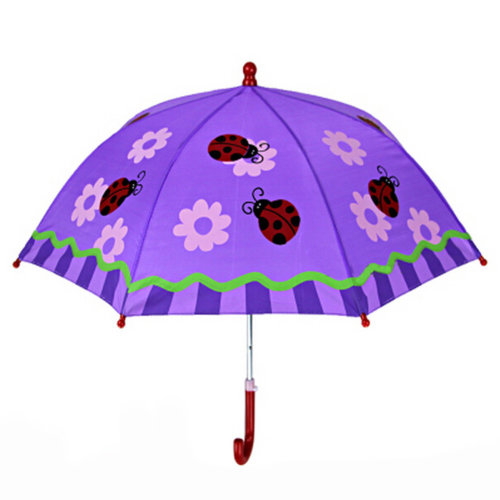 Kids Umbrella - Childrens 22 Inch Rainy Day Umbrella - Ladybug