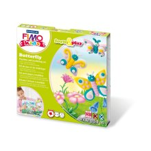 Fimo 7-Parts Kids Form and Play Butterfly Modelling Set, Multi-Colour