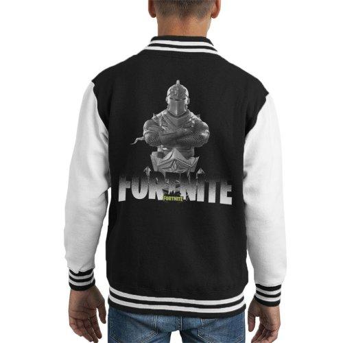 Fortnite Knight Skin Kid's Varsity Jacket