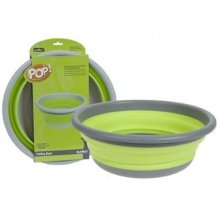 Summit Pop Large Bowl -  bowl summit pop large round folding collapsible up camping lime easy