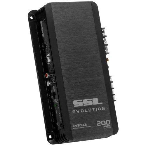 SOUND STORM EV200 2 EVOLUTION 200 Watt Full Range Class A B 2 to 8 Ohm Stable 2 Channel Amplifier