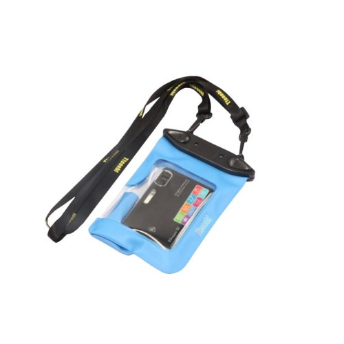 """5.5""""*4.1""""BLUE Waterproof Underwater Swimming Diving Card Camera Dry Bag Pouch"""