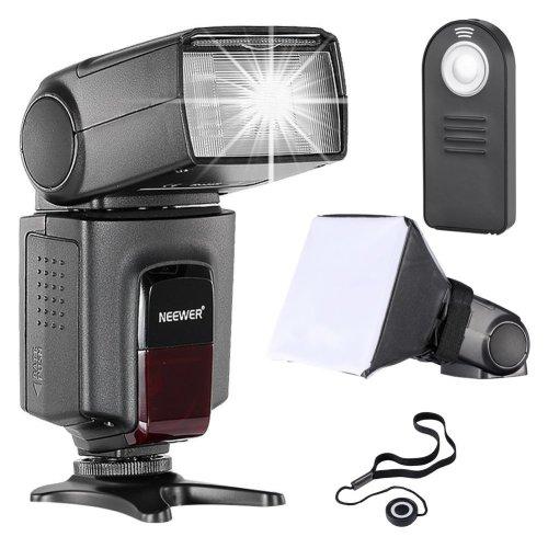 Neewer TT560 Flash Speedlite Kit for Canon Nikon Sony Pentax DSLR Cameras with standard Hot Shoe,Includes:(1)TT560 Flash+(1)Remote...
