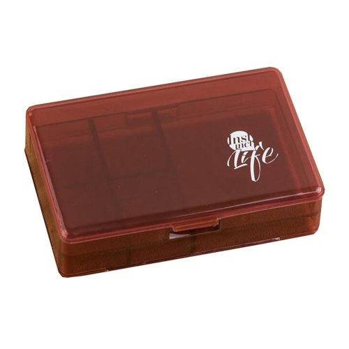 Travel Portable Medicine Pill Holder Organizer Container