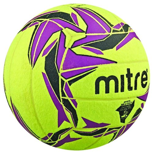 Mitre Cyclone Indoor Football Soccer Ball Yellow