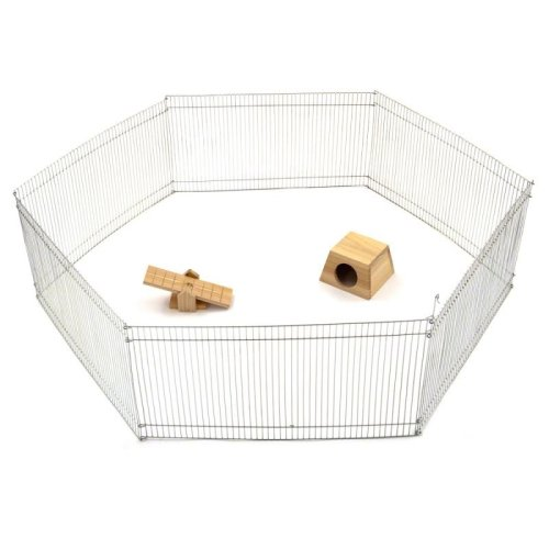 Hamster Mice Metal Run for Small Pets Ideal for Garden or Home