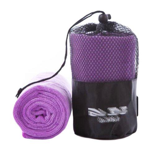 Nano Microfiber Sports Towel Outdoor Fitness Towels-Purple