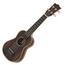Snail UKS-E220EQ Electro Acoustic Ebony Soprano Ukulele